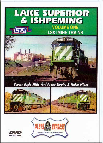 Lake Superior & Ishpeming - LS&I MIne Trains Vol 1 Train Video Plets Express 038LSI1