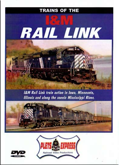 Trains of the I&M Rail Link DVD Train Video Plets Express 040IM