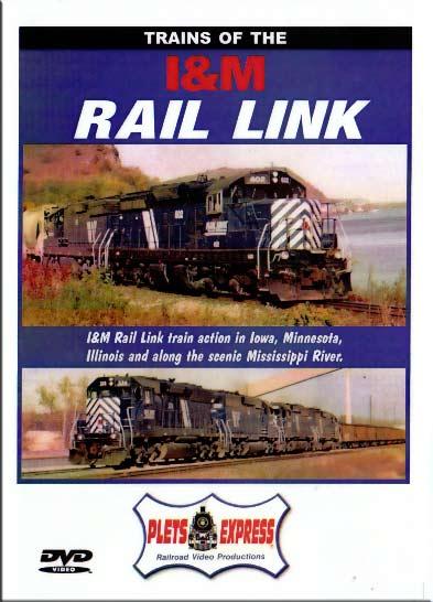 Trains of the I&M Rail Link DVD Plets Express 040IM