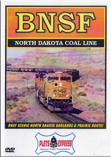 BNSF North Dakota Coal Line DVD Plets Express 045BNSF