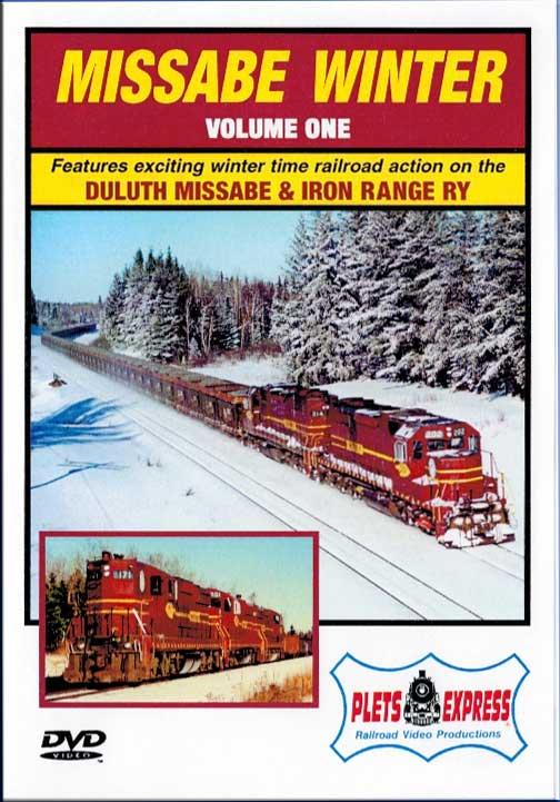 Missabe Winter Volume 1 - Duluth Missabe & Iron Range DVD Train Video Plets Express 048MW1
