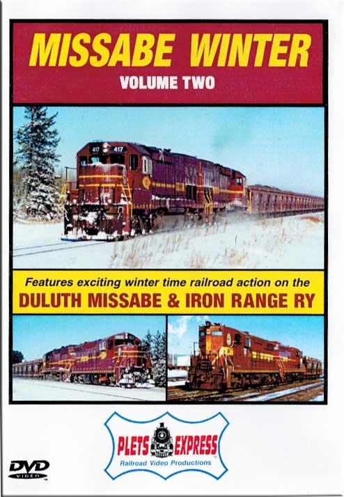 Missabe Winter Volume 2 - Duluth Missabe & Iron Range DVD Plets Express 049MW2