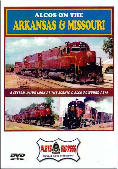 Alcos on the Arkansas & Missouri DVD Plets Express 050AM