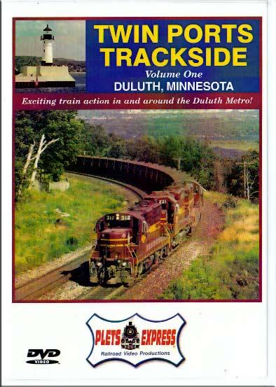 Twin Ports Trackside Vol 1 Duluth MInnesota Train Video Plets Express 054TPT1