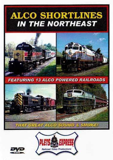 Alco Shortlines in the Northeast DVD Train Video Plets Express 058ASNE