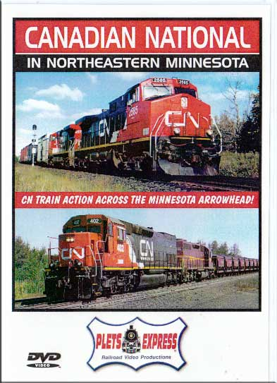 Canadian National in Northeastern Minnesota DVD Plets Express 063CNM1