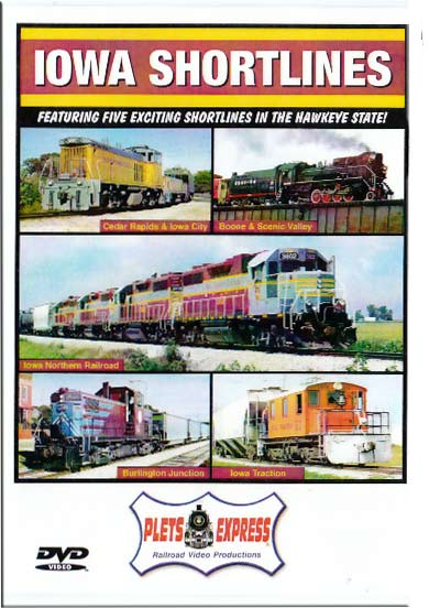 Iowa Shortlines DVD Plets Express 066IAS