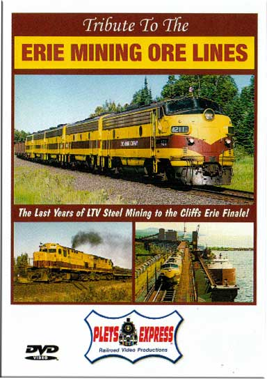 Tribute to the Erie Mining Ore Lines DVD Plets Express 072TEMOL