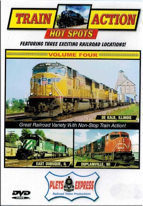 Train Action Hot Spots 4 - De Kalb - East Dubuque - Duplainville Plets Express 073HS04