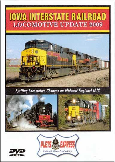 Iowa Interstate Railroad Locomotive Update 2009 DVD Train Video Plets Express 077IAIS09 753182980768