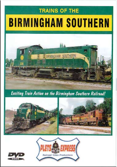 Trains of the Birmingham Southern DVD Plets Express 078BIRMSO