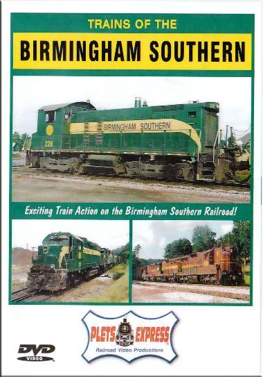 Trains of the Birmingham Southern DVD Plets Express 078BIRMSO