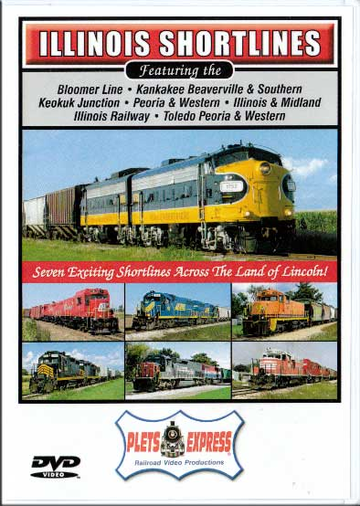 Illinois Shortlines DVD Train Video Plets Express 079ILS 753182980782