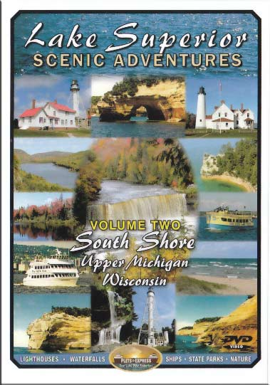 Lake Superior Scenic Adventures Vol 2 South Shore Train Video Plets Express 080LSSA2 753182980799