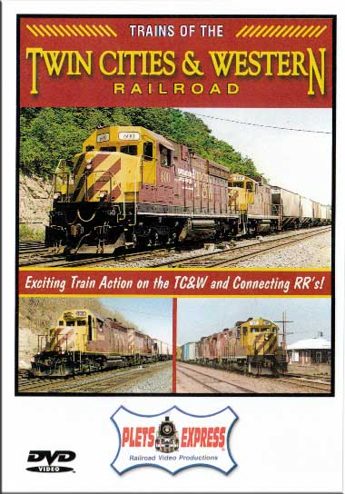 Trains of the Twin Cities & Western Railroad DVD Plets Express 083TCW 753182980829