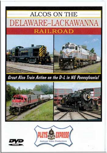 Alcos on the Delaware-Lackawanna Railroad DVD Train Video Plets Express 084D-LR 753182980836