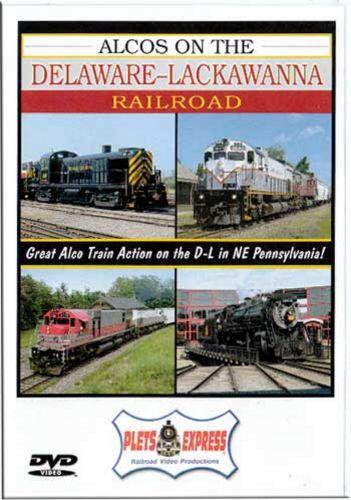 Alcos on the Delaware-Lackawanna Railroad DVD Plets Express 084D-LR 753182980836