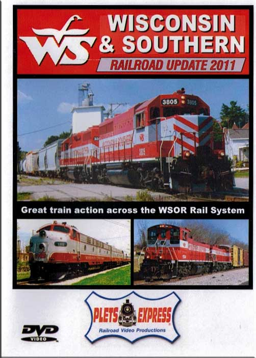 Wisconsin & Southern Railroad Update 2011 Plets Express 091WSRU 753182980911