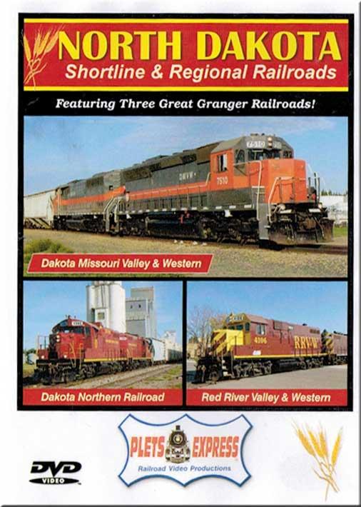 North Dakota Shortline & Regional Railroads DVD Train Video Plets Express 092NDSR 753182980928
