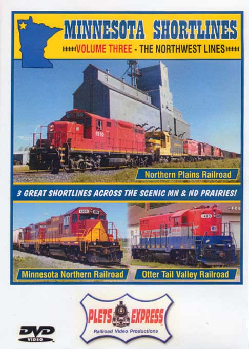 Minnesota Shortlines Volume 3 - The Northwest Lines DVD Train Video Plets Express 097MNS3 753182980973