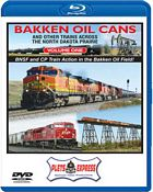 Bakken Oil Cans - Volume 1 and Other Trains Across the North Dakota Prairie BLU-RAY