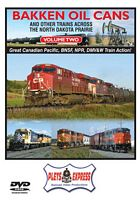 Bakken Oil Cans - Volume 2 and Other Trains Across the North Dakota Prairie DVD