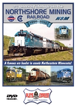 25 Years of Change on the Northshore Mining Railroad 1990-2015 DVD