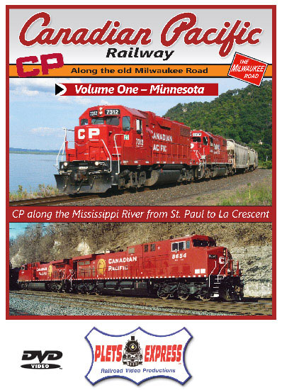 Canadian Pacific Railway Volume 1 Minnesota DVD Train Video Plets Express 108CPRW1