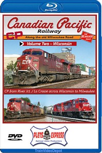 Canadian Pacific Railway Volume 2 Wisconsin BLU-RAY