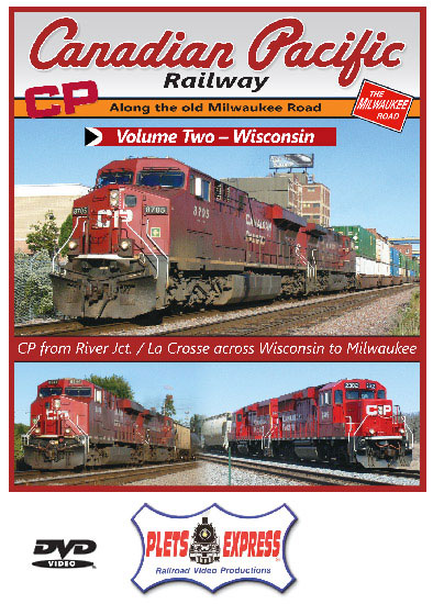 Canadian Pacific Railway Volume 2 Wisconsin DVD Plets Express 109CPRW2