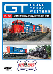 Grand Trunk Western - Vol. 1 Grand Trunk Action Across Michigan DVD