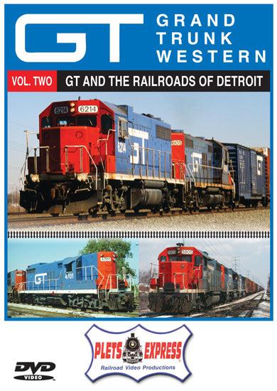 Grand Trunk Western Vol 2 Across Michigan DVD Plets Express 122GTW2