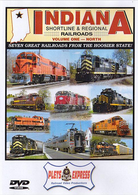 Indiana Shortline & Regional Railroads Vol 1 North DVD Train Video Plets Express 113INSL1 753182981130