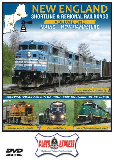 New England Shortline & Regional Railroads Vol 1 Maine - New Hampshire DVD Plets Express 114NESL1D