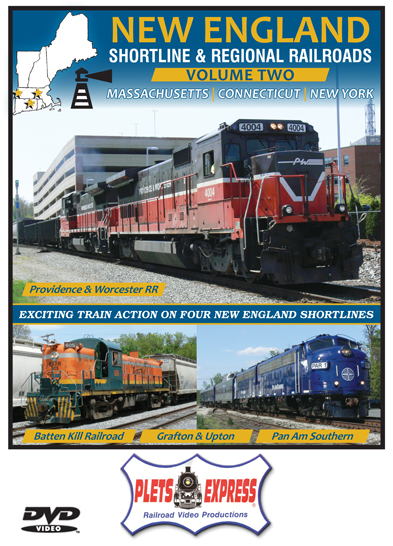 New England Shortline & Regional Railroads Volume 2 DVD Plets Express 115NESL2D 753182981154