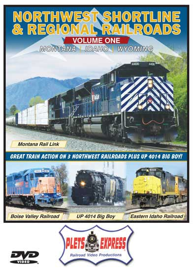 Northwest Shortline & Regional Railroads Volume 1 Montana Idaho Wyoming DVD Plets Express 118NWSL1D 753182981185