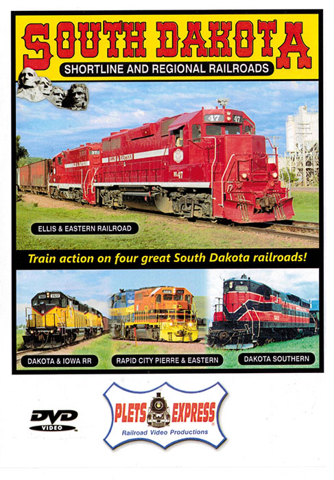 South Dakota Shortline and Regional Railroads DVD Train Video Plets Express 981109DVD 753182981109