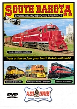South Dakota Shortline and Regional Railroads DVD