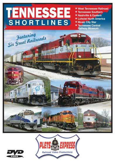 Tennessee Shortlines DVD Plets Express 116TSD 753182981161