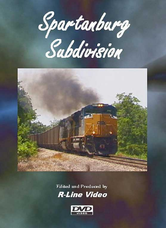 CSX Spartanburg Subdivision DVD Train Video R-Line Video RL-SPAR