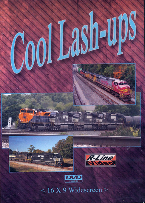 Cool Lash-Ups DVD Train Video R-Line Video RL-CLUD