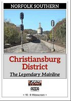 Norfolk Southern Christiansburg District Legendary Mainline DVD