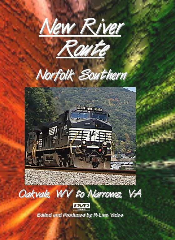Norfolk Southern New River Route DVD Train Video R-Line Video RL-NSNRDVD