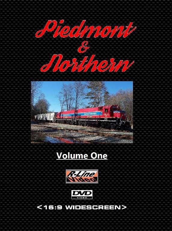Piedmont & Northern Volume 1 DVD Train Video R-Line Video RL-PDV1DVD