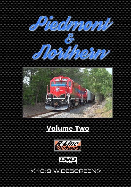 Piedmont & Northern Volume 2 DVD R-Line Video RL-PDV2DVD