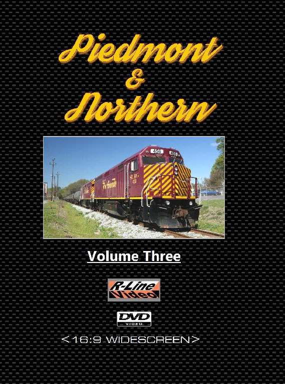 Piedmont & Northern Volume 3 DVD The Iowa Pacific Holdings Era Train Video R-Line Video RLPN3D