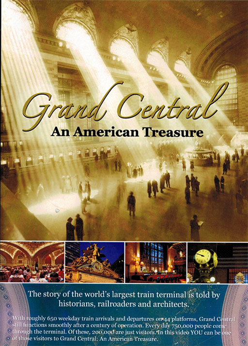 Grand Central An American Treasure DVD (2013) Train Video Kalmbach Publishing RK-GCT 811063011670
