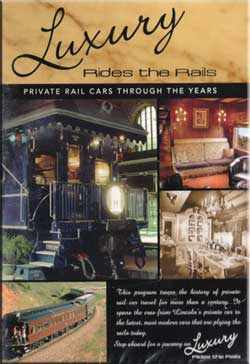 Luxury Rides the Rails - Private Rail Cars Through the Years DVD Train Video RK Publishing RK-LUXURY