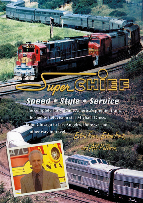 Super Chief - Speed - Style - Service on DVD Train Video Kalmbach Publishing RK-SUPERCHIEF 823995200299