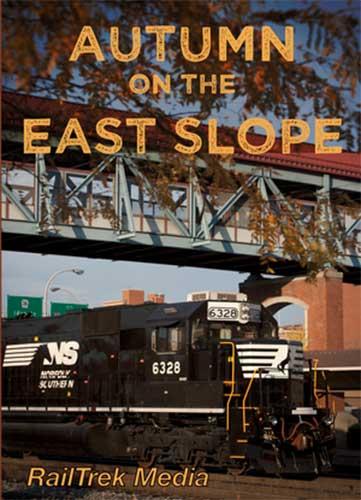 Autumn on the East Slope - Norfolk Southern DVD Train Video RailTrek Media ALTOFALL-01